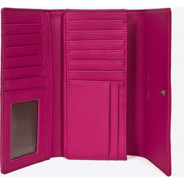 61e1277a8cf5be Ochnik - Portfel - Różowe portfele damskie Ochnik, z materiału. W ...