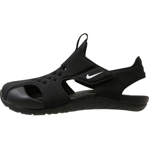 on sale df13c 1eeb7 Nike Performance SUNRAY PROTECT 2 Sandały kąpielowe blackwhi