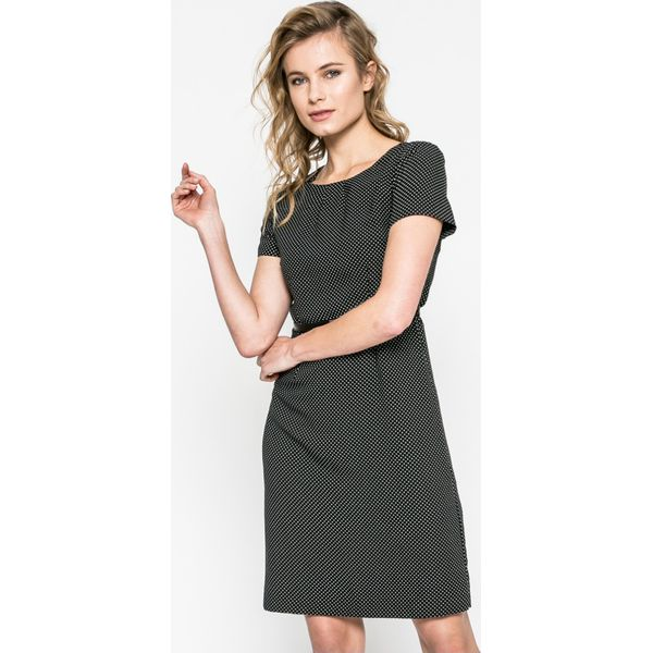 d9d1d5d15de863 Vero Moda - Sukienka - Szare sukienki damskie marki Vero Moda, w ...