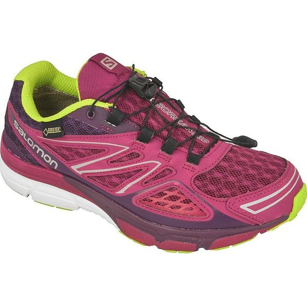 8165e9ecbcb1 Różowe obuwie sportowe damskie marki Salomon - Kolekcja zima 2019 - Butik -  Modne ubrania