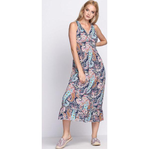 ba633f0697 Granatowa Sukienka Unforgettable - Niebieskie sukienki damskie marki ...