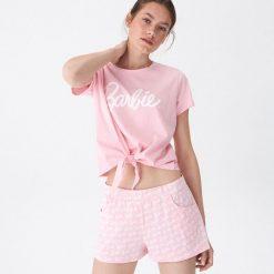efc8c6ef9a3dae Dwuczęściowa piżama Barbie - Różowy. Czerwone piżamy damskie House, bez  wzorów, bez ramiączek