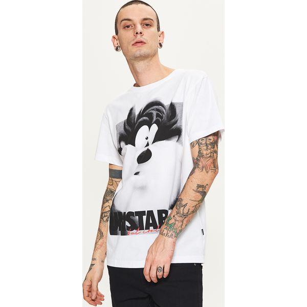 b3da7a7ef Koszulka z rysunkową grafiką looney tunes - Biały - Białe t-shirty i ...