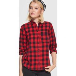 7e115501cc1fb4 Koszula w kratę - Czerwony. Koszule damskie marki Cropp. W wyprzedaży za  39.99 zł ...