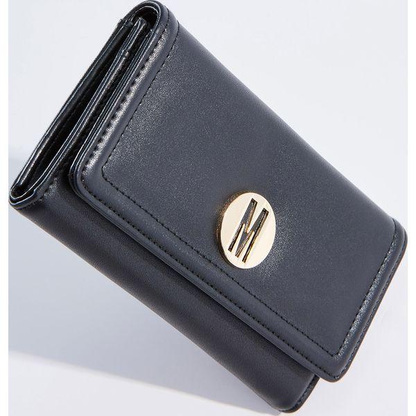 231a6218c06d2 Czarny portfel - Czarny - Czarne portfele damskie marki Mohito. W ...
