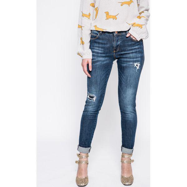 9b638fdad487f Guess Jeans - Jeansy Curve X - Niebieskie rurki damskie marki Guess ...