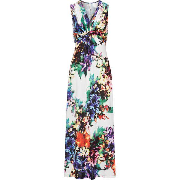 20d448e09f Sukienka letnia bonprix biały w kwiaty - Białe sukienki damskie ...