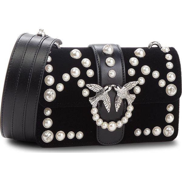 db310217cc1f7 Torebka PINKO - Mini Love Velvet Pearls C Spalla AI 18-19 PLTT ...