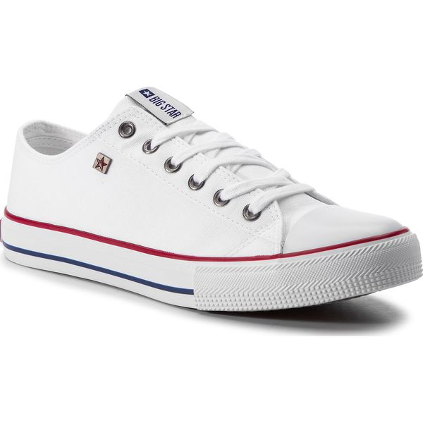 Białe trampki damskie Big Star FF274A065