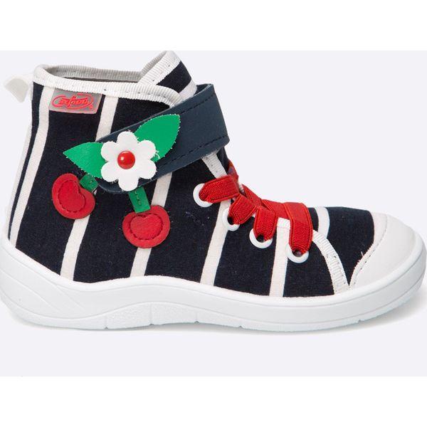 36b71c558bd40 Befado - Trampki dziecięce - Szare buty sportowe dziewczęce marki ...