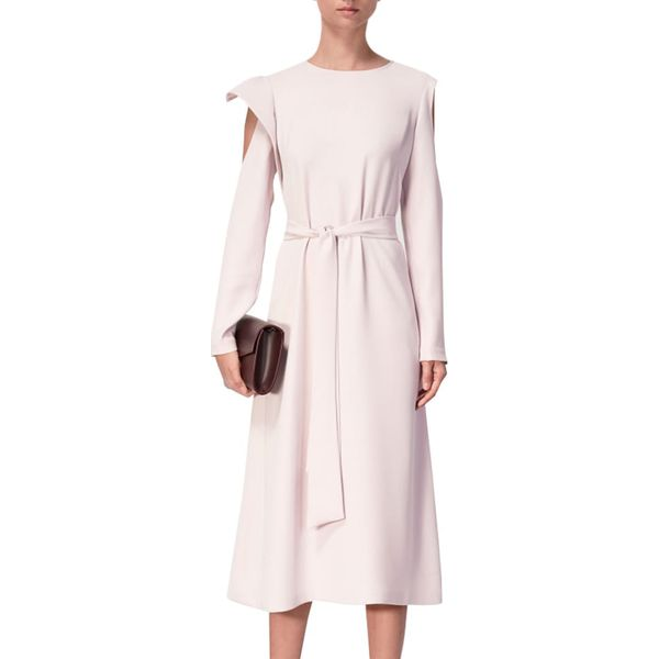 d8b166160b Sukienka w kolorze jasnoróżowym - Czerwone sukienki damskie marki ...