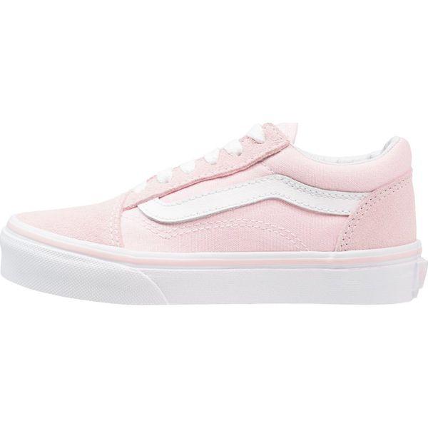 49c063858cc45 Vans OLD SKOOL Tenisówki i Trampki chalk pink/true white - Buty ...