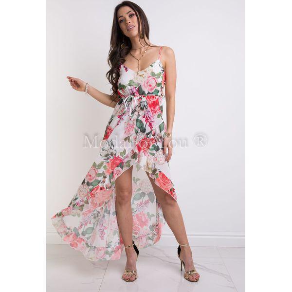 b61fbe996a37fe Sukienki damskie marki Modaforyou, z długim rękawem - Kolekcja lato 2019 -  Butik - Modne ubrania, buty, dodatki dla kobiet i dzieci