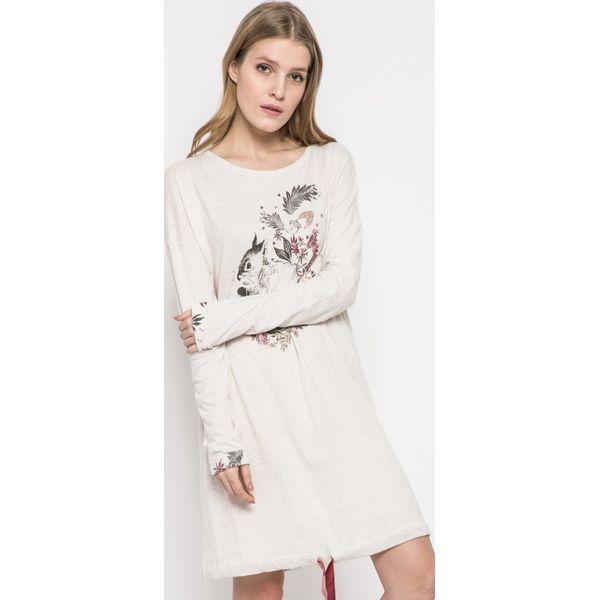 23b4ef64b13886 Triumph - Koszula nocna - Szare piżamy damskie Triumph, z nadrukiem ...