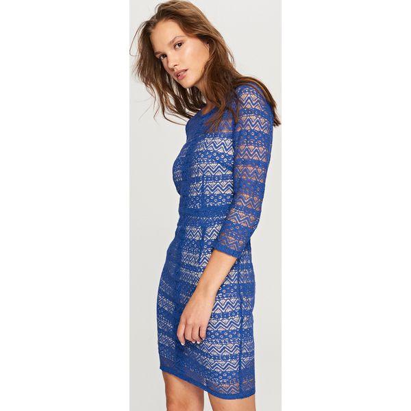 34b141fd6b Koronkowa sukienka - Wielobarwn - Sukienki damskie marki Reserved. W ...