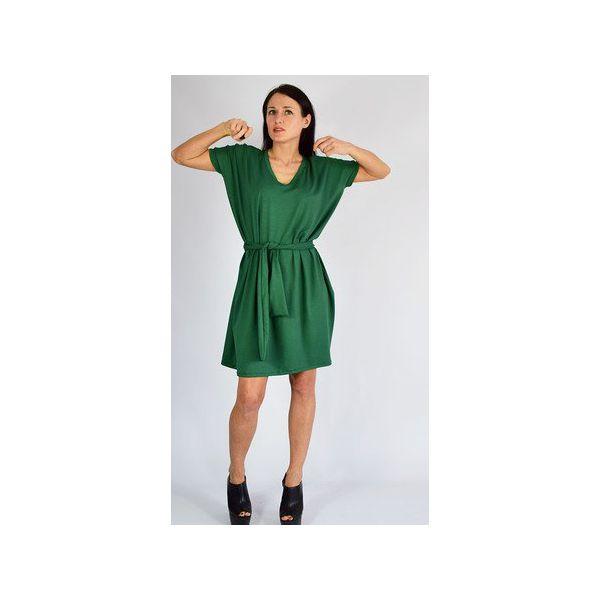 d04f735f19 ANA - sukienka   zielona - Sukienki damskie marki Collibri. Za ...