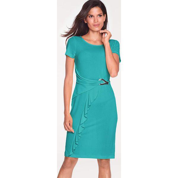 b19f63c821 Sukienka w kolorze turkusowym - Niebieskie sukienki damskie marki ...