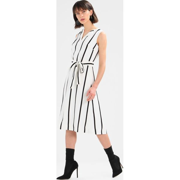 919fac37c7 Banana Republic SQUARE NECK MIDI DRESS STRIPE Sukienka letnia snow ...