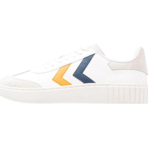 03b829efa8 Hummel AARHUS CLASSIC Sneakersy niskie white blue wing teal ...