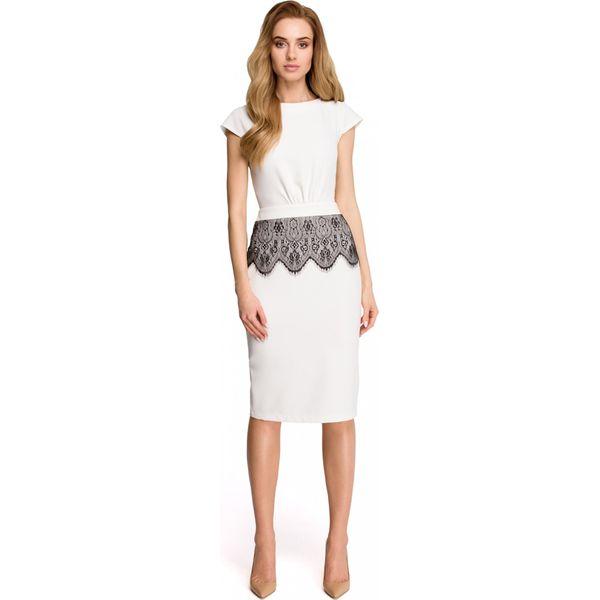 c9ebc24adf Sukienka ołówkowa z koronką s108 - Sukienki damskie marki Style. Za ...