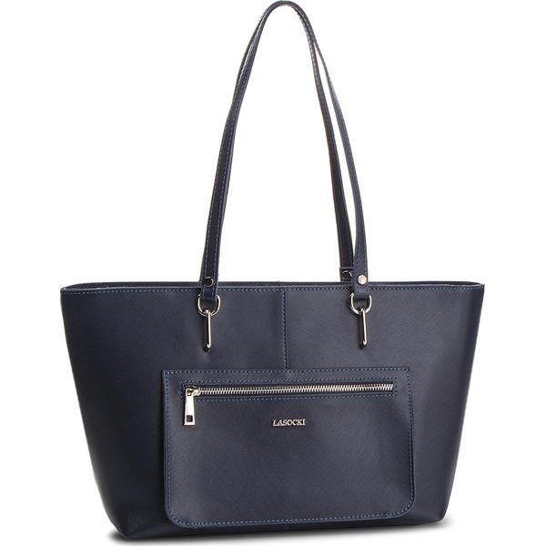 aa9372c3abef3 Torebka LASOCKI - VS4328 Granatowy - Niebieskie torebki klasyczne ...