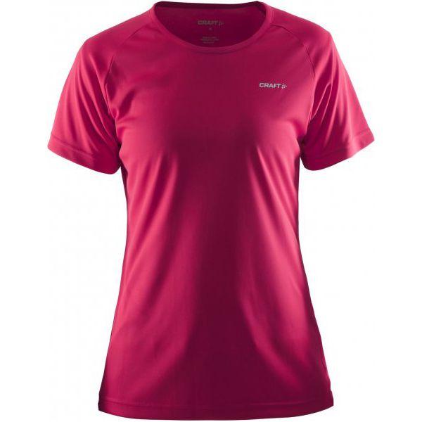 61a9eb12299155 Craft Koszulka Prime Pink L - Różowe koszulki sportowe damskie Craft ...