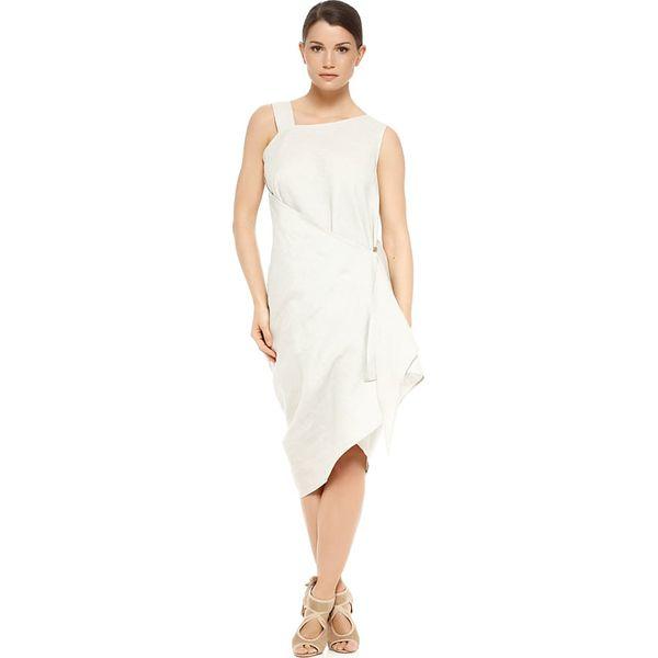 c6c55764 Lniana sukienka