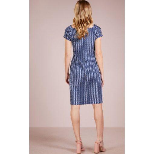 2e61fbf381 WEEKEND MaxMara ENZA Sukienka z dżerseju ultramarine - Niebieskie ...