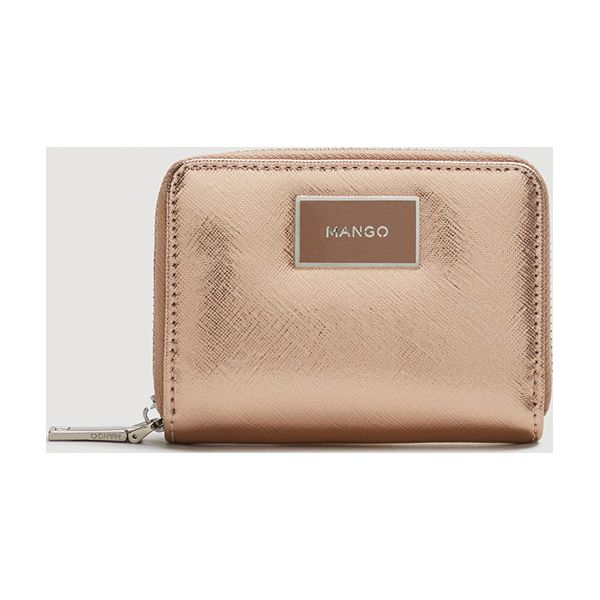 adbd5ffea158f Mango - Portfel Lole - Różowe portfele damskie marki Mango