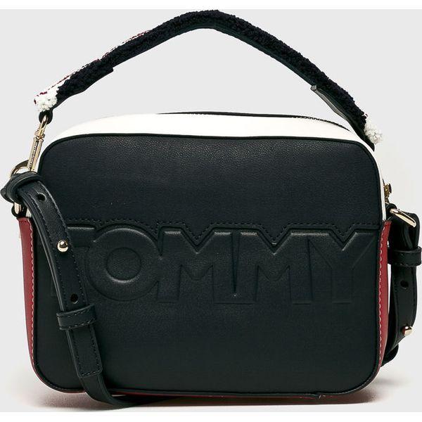 a101c42b68c08 Tommy Hilfiger - Torebka - Czarne torebki klasyczne damskie marki ...