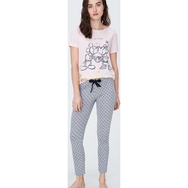 Dwuczęściowa piżama Mickey Różowy