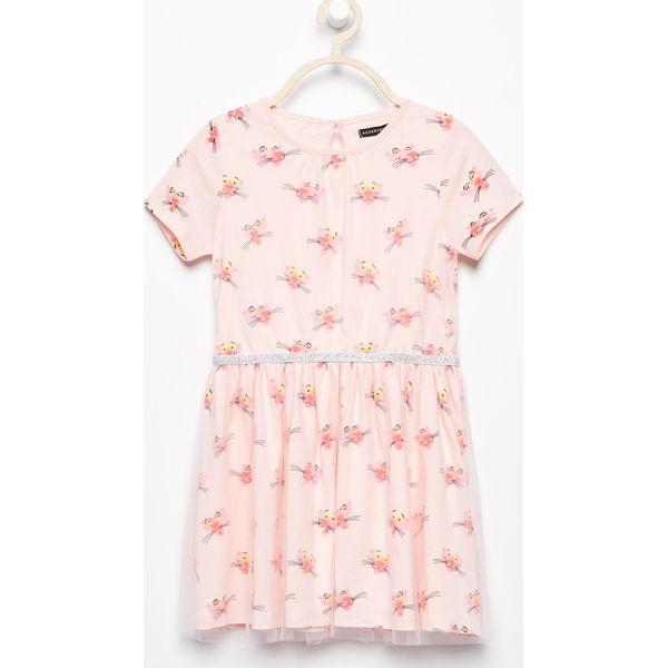 5cc874f2 Sukienka różowa pantera - Różowy