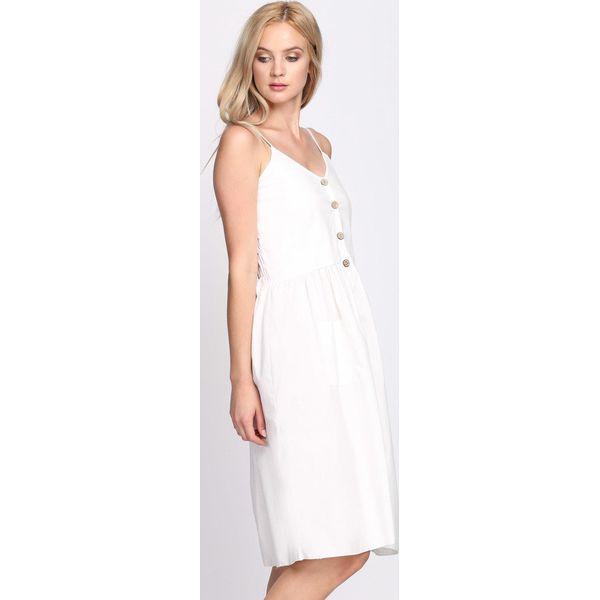 83c27b665d Biała Sukienka Love and Hate - Białe sukienki damskie marki Born2be ...
