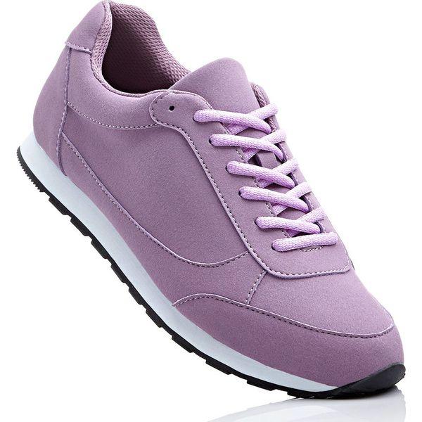 42c672db Sneakersy bonprix matowy jeżynowy - Fioletowe obuwie sportowe ...
