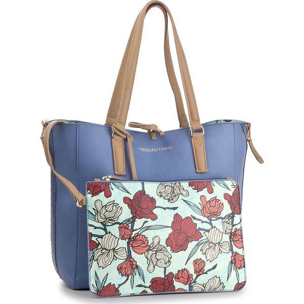 449ddf592397a Torebka TRUSSARDI JEANS - Kuala Lumpur 75B00379 U175 - Shopper bag ...