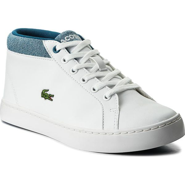 479fce553 Sneakersy LACOSTE - Straightset Chukka 317 1 Caj 7-34CAJ0015080 Wht ...