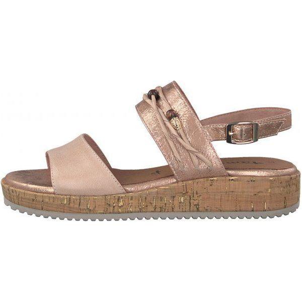 e6684fc7255f8 Tamaris Sandały Damskie Siri 38 Różowe - Butik - Modne ubrania, buty ...
