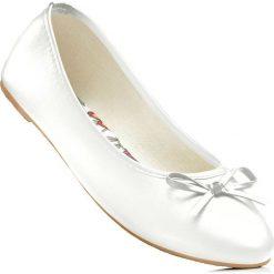 Baleriny bonprix biały. Balerinki damskie marki bonprix. Za 49.99 zł. 372275e5ed