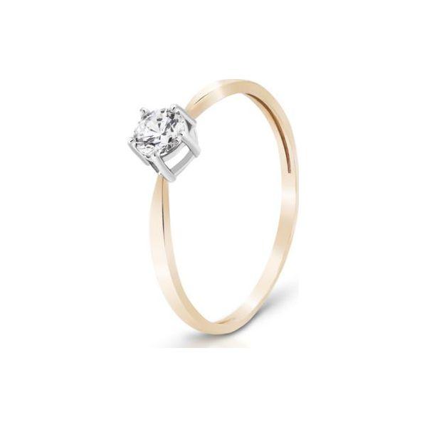 7bbe72e6e795ff Pierścionek - , Cyrkonia - Białe pierścionki damskie W.KRUK, z ...