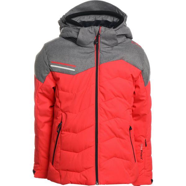 14fa41dace7f6 CMP SNAPS Kurtka snowboardowa red fluo - Brązowe kurtki dziewczęce marki CMP,  z materiału. W wyprzedaży za 377.10 zł. - Kurtki dziewczęce - Kurtki i ...