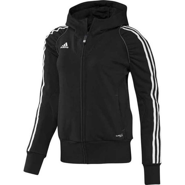 100% wysokiej jakości gładki oficjalny sklep Adidas Bluza damska T12 Hoody czarna r. 46 (X13649)