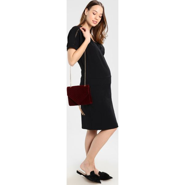fa9a9aa64 Queen Mum DRESS NURS DETAIL Sukienka z dżerseju black - Czarne ...