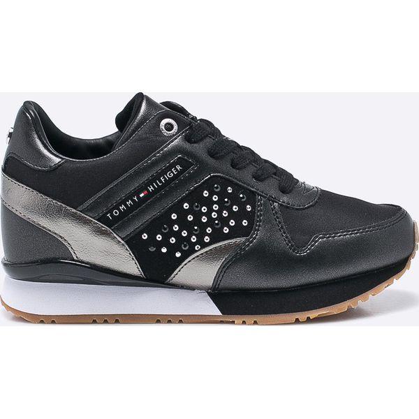 46fd5c0f7b54d Tommy Hilfiger - Buty - Czarne obuwie sportowe damskie marki Tommy ...