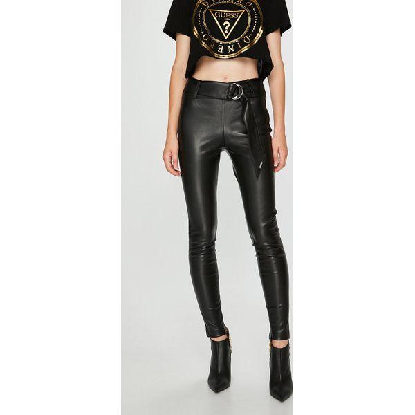 ebf02a3fa63e5 Guess Jeans - Spodnie Eve - Spodnie materiałowe damskie marki Guess ...
