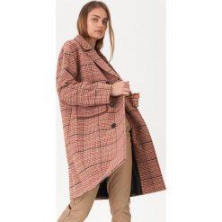 535235270c79c5 Płaszcze damskie ze sklepu House - Kolekcja lato 2019. Dwurzędowy płaszcz w  kratę - Wielobarwny. Płaszcze damskie House, l, bez wzorów,