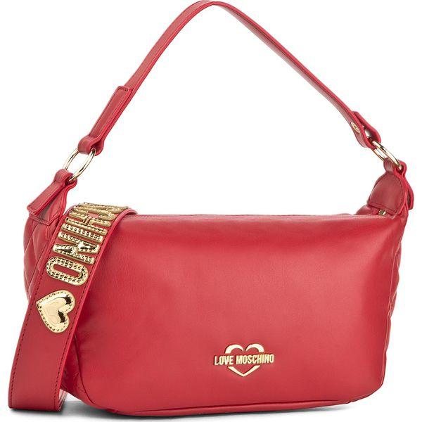 f4c39df93f7fb Torebka LOVE MOSCHINO - JC4010PP15LB0500 Rosso - Czerwone torebki klasyczne  damskie marki Love Moschino. W wyprzedaży za 519.00 zł.