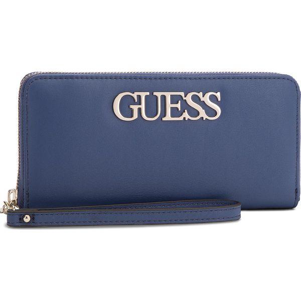 6e43bda65e670 Duży Portfel Damski GUESS - SWVG68 76460 BLUE - Portfele damskie ...