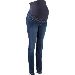 04b1f5aa994d56 Niebieskie jeansy damskie ze sklepu BonPrix.pl - Kolekcja lato 2019 ...