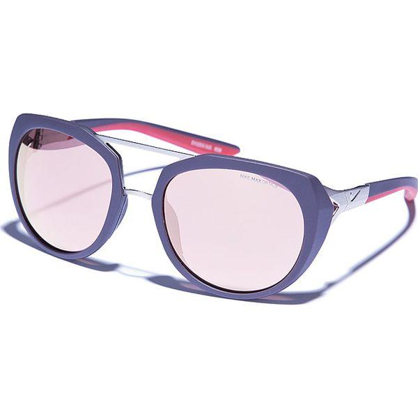 Okulary Damskie Flex Motion R W Kolorze Fioletowo Jasnobrązowym
