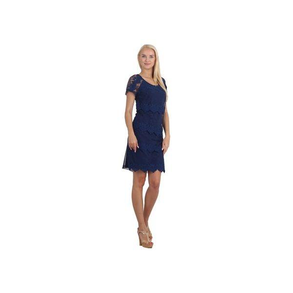 848c20a3c20dba Sukienka z koronkowymi wstawkami - Sukienki damskie marki Bird. Za ...